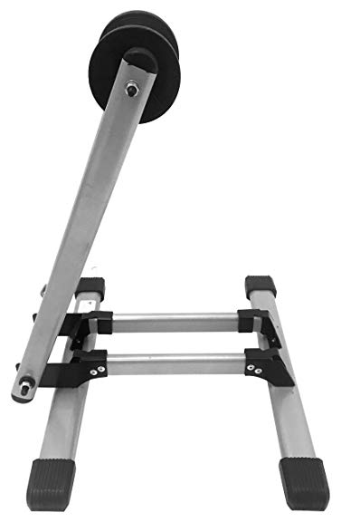 MaxxHaul 80717 Foldable Floor Bike Stand Fits 20